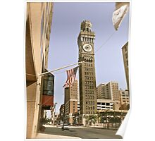 The Emerson Bromo-Seltzer Tower - Baltimore Poster