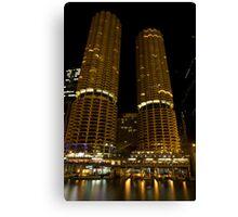 Marina Towers - Chicago, Illinois Canvas Print