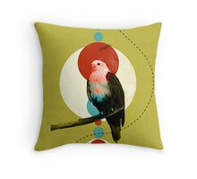 Perched Eagle  Throw Pillow