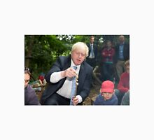 London Mayor Boris Johnson toasts dough during his visit to new kids' adventure centre in Bexley Unisex T-Shirt