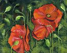 Poppies by Michael Beckett