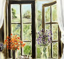 Studio window by Antionette
