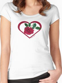 Show Me You Love Me ~ Buy Me a Rose Women's Fitted Scoop T-Shirt