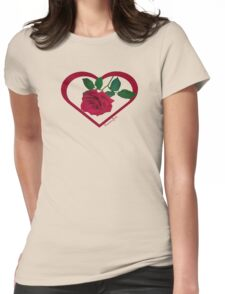Show Me You Love Me ~ Buy Me a Rose Womens Fitted T-Shirt
