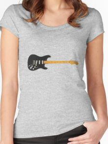 Dave's Strat Women's Fitted Scoop T-Shirt