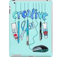 Connected Creative in Blue iPad Case/Skin