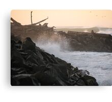 Thundering Tides Canvas Print