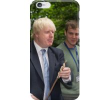 London Mayor Boris Johnson visits new kids' adventure centre in Bexley iPhone Case/Skin