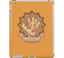 Bioshock - Incinerate! - Fire at your fingertips! iPad Case/Skin