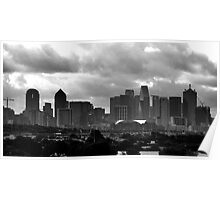 VIEW OF DOWNTOWN DALLAS Poster