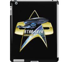 StarTrek Vogager Com badge 2 iPad Case/Skin