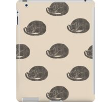 Black cats iPad Case/Skin