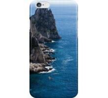 Limestone Cliffs and Seastacks - a Capri Island Vacation iPhone Case/Skin