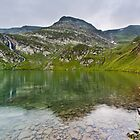 Mountain lake by fos4o
