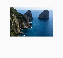 Limestone Cliffs and Seastacks - a Capri Island Vacation Unisex T-Shirt