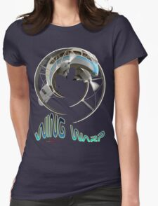 De Havilland DH-89a Dragon Rapide Wing Warp T-shirt Design Womens Fitted T-Shirt