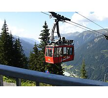 Vermunt cable car Photographic Print