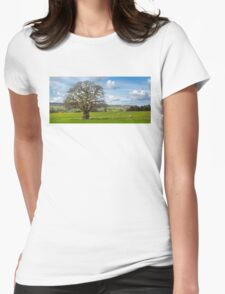 Peak District Tree Womens Fitted T-Shirt