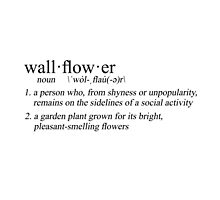 define: wallflower by loss-for-words