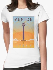 Venice vintage poster Womens Fitted T-Shirt