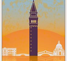 Venice vintage poster by paulrommer