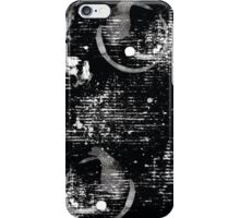 Black and White Abstract Pattern iPhone Case/Skin