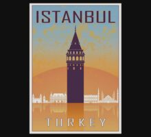 Istanbul vintage poster Baby Tee