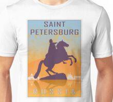 Saint Petersburg vintage poster Unisex T-Shirt