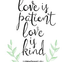 Love Is Patient, Love Is Kind by Tangerine-Tane