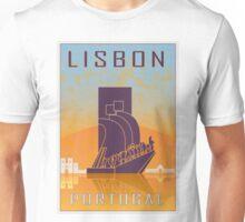 Lisbon vintage poster Unisex T-Shirt