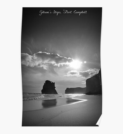 Gibsons Steps, Port Campbell Poster