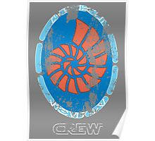 Star Wars Ship Insignia - Liberty, Stressed Poster