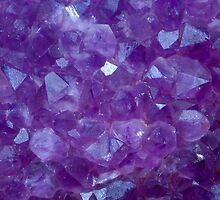 amethyst crystal stone detail by paulrommer