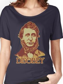 Thoreau Disobey Women's Relaxed Fit T-Shirt