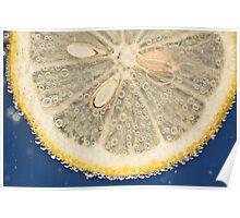 Lemon Fizz Poster