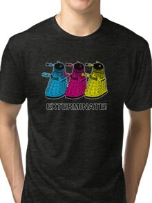 Doctor Who - Exterminate! Tri-blend T-Shirt