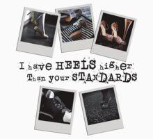 Standards in Heels One Piece - Short Sleeve