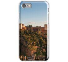 Alhambra in Granada, Spain iPhone Case/Skin