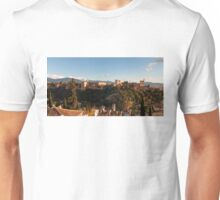 Alhambra in Granada, Spain Unisex T-Shirt