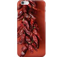 dried peppers iPhone Case/Skin