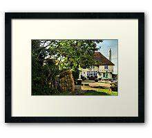 Country Pub Framed Print