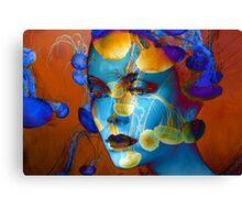 Faces 21 Canvas Print
