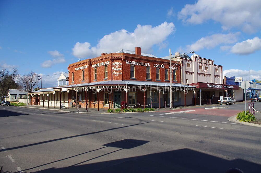 Maryborough Australia  City new picture : Nolan and Napier Streets, Maryborough, Victoria, Australia by Gregory ...