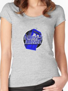 Doctor Who - Allons-y Alonso Women's Fitted Scoop T-Shirt
