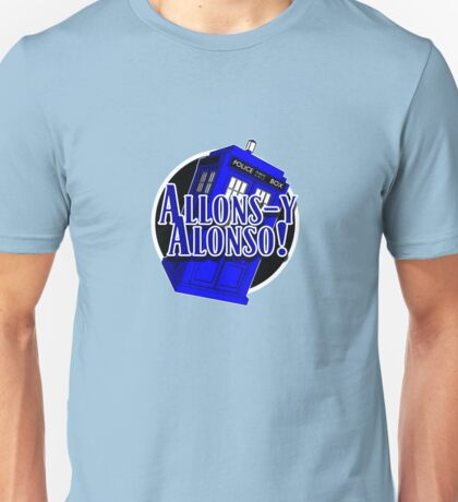 Doctor Who - Allons-y Alonso Unisex T-Shirt