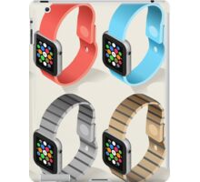 Isometric Smart Watch in Six Colors iPad Case/Skin