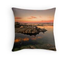 Sunset roost Throw Pillow