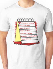 Love in Computer language Unisex T-Shirt
