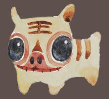 Dear Little Cloth Tiger One Piece - Short Sleeve