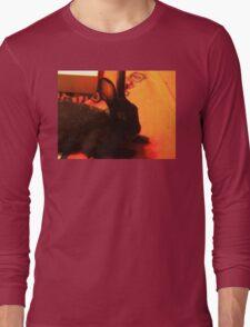 Bedroom Bunny Eyes Long Sleeve T-Shirt